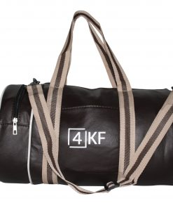 Gym Bag 4KF Sports Duffel Bag with Wet Pocket for Men and Women Travel Brown