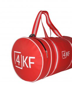Gym Bag 4KF Sports Duffel Bag with Wet Pocket for Men and Women Travel Red
