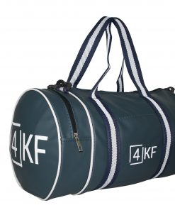 Gym Bag 4KF Sports Duffel Bag with Wet Pocket for Men and Women Travel Dark Blue