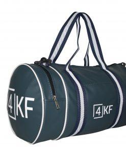 Gym Bag 4KF Sports Duffel Bag with Wet Pocket for Men and Women Travel Dark Blue