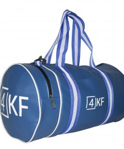 Gym Bag 4KF Sports Duffel Bag with Wet Pocket for Men and Women Travel Blue
