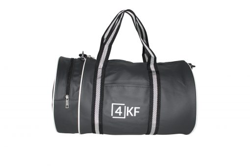 Gym Bag 4KF Sports Duffel Bag with Wet Pocket for Men and Women Travel Black