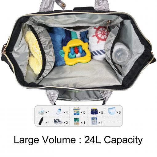 Baby Diaper Bag Inside 4KF